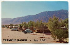 "Old Postcard: ""Tramvue Ranch Mobile Homes & Trailers"" [North Palm Springs, CA]"