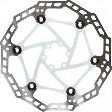 Clarks Flottant Acier Vélo Disque Disk Frein Rotor En Blanc 203 mm