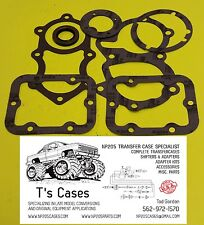 NP205 CHEVY GM Transfer Case to SM465 Gasket & Seal Kit for Mounting Adapter