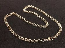 Hallmarked HM 9ct 9k Gold Belcher Necklace Chain 18 Inches Long 18.5 Grams