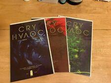 CRY HAVOC 1 2 & 3  Image Comics 2016 Cameron Stewart Spurrier Kelly