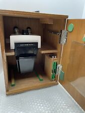New Listingbausch Lomb Stereo Zoom 7 Microscope With Wood Case Stand 101520x Unitron Wf15x