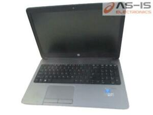 *AS-IS* HP ProBook 650 G1 Core i5-4210M 2.6GHz 4GB RAM 320GB HDD BIOSLock Laptop