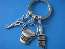 Painter and Decorators Gift Off to College Apprentice Tradesperson Keyring Gift
