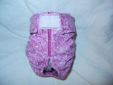 Female Dog Puppy Pet Diaper Washable Pants Sanitary Underwear ROSETTES XXXS