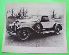 "Rare 1929 WINDSOR WHITE PRINCE ORIGINAL PRESS PHOTOGRAPH 10"" X 8"" Moon Cars"