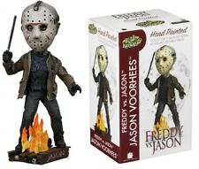"Freddy VS Jason Friday the 13th Jason Voorhees 7"" Head Knocker NECA"