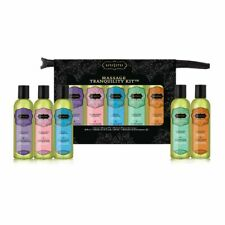KamaSutra, Massage Tranquility Kit. 5 Oils, 2 oz ea. Great Value All in one set