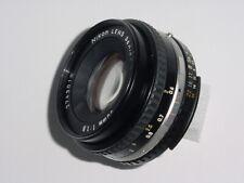 Nikon 50mm F/1.8 AIs Pancake SERIES E Manual Focus Lens ** Ex++