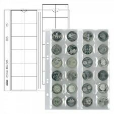 Lindner MU24 Multi collect, coin pages for 24 coins up to 34 mm Ø