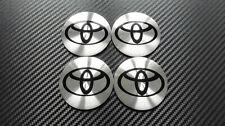 4x 56mm Toyota Sticker Stickers Decal Badge For Center Caps Hub Cap Wheel Rim