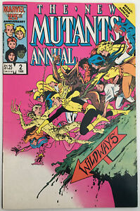 The New Mutants Annual Vol 1 #2 (October 1986, Marvel) First Appearance Psylocke