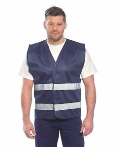 Portwest F474 Iona Lightweight Cooling Safety Vest with 2 Band Reflective Tape