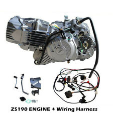 ZS 190cc engine electric start CDI dirt bike carby wiring air filter zongshen