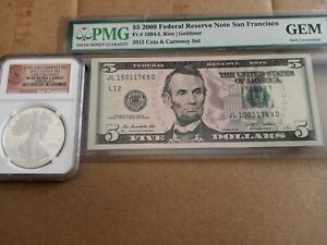 Lot of 2 2012S Coin & Currency NGC PF69 Ultra Cameo ER & Gem Unc.