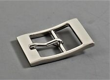 """Prong Pin 1""""(25mm)  center bar buckle (#C1) shinny silver color NEW"""