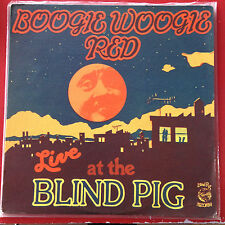 Boogie Woogie Red - Live at the Blind Pig (VG Vinyl; Piano Blues)