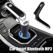 Car Bluetooth Plug-in Card MP3 Player Speaker Phone Phone Charger Led Display