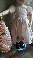 """Bleuette GL Fashion  In Peach, Copy of gl """"blanchette dress"""" for your 11"""" doll"""