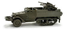 1/87 Roco MiniTanks  5048  -  M16 Halftrack w/Quad 50 guns - US Army Model Kit