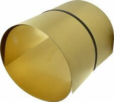 "Brass Shim. 1 off  6"" x 12"" x .020"""