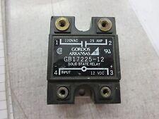 Gordos Arkansas Gb17225-12 Solid State Relay 120Vac 25A 12Vdc