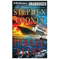 PIRATE ALLEY unabridged audio book on CD by STEPHEN COONTS - Brand New! 10 Hours