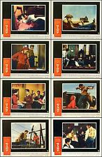JAMES DEAN ELIZABETH TAYLOR GIANT Complete Set Of 8 Indiv 8x10 LC Prints 1956