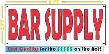 BAR SUPPLY Banner Sign NEW XL Extra Large Size 4 Restaurant & Bar Supply Shop