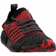 adidas Nmd_R1 Primeknit Lace Up  Mens  Sneakers Shoes Casual   - Black - Size 12