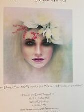 Heaven and Earth Cross Stitch Chart Little Alice Blossom  by Bee Winnel