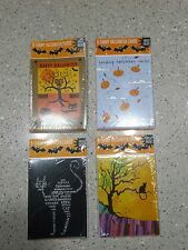 RECYCLED PAPER GREETINGS, LOT 32 FUNNY HALLOWEEN CARDS, 4 PACKS NEW SEALED #1