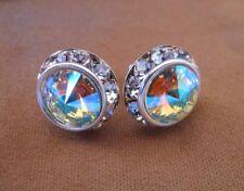 HYPOALLERGENIC Stud Earrings Large Swarovski Elements Crystal with Rhinestones