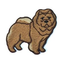 Chow Chow Iron On Embroidered Patch