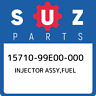 15710-99E00-000 Suzuki Injector assy,fuel 1571099E00000, New Genuine OEM Part