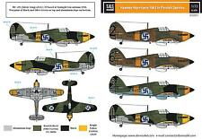 SBS Model 1/72 Hawker Hurricane MK. I.  in Finnish service decal sheet D72011