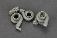 Hobby Design 1/18 Turbochargers Set (Big Size)