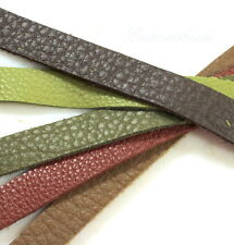 Leather Straps, 1/2 InchX10 Inch, Earth Multi Colored Mix, TierraCast, 5 Pieces