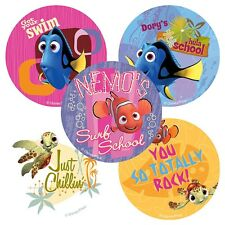 Finding Nemo Stickers x 5 - Birthday Party Supplies - Teacher Merit Reward Chart
