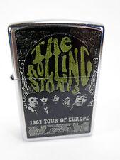 "Zippo  ""THE ROLLING STONES"" 1967 TOUR OF EUROPE -  NEU & ovp - #708"
