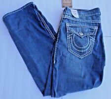 True Religion Super QT Jeans Straight Fit MNR859ETM Men's 38