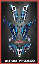 YFZ450 YFZ450R Yamaha CARBURATED SEMI CUSTOM GRAPHICS KIT Faast5