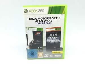 JUEGO XBOX 360 FORZA MOTORSPORT 3 + ALAN WAKE X360 6044127