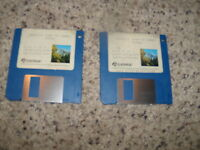"Hoyle's Book of Games - Commodore Amiga 3.5"" floppy disks"