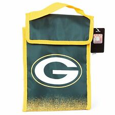 Green Bay Packers Insulated Lunch Bag Sack Cooler NFL Football Licensed