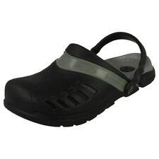 Zapatos informales de hombre Crocs color principal negro sintético