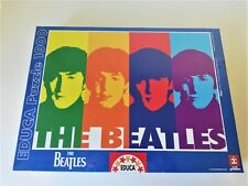 The Beatles Pop Art Educa 1000 Piece Jigsaw Puzzle New Sealed