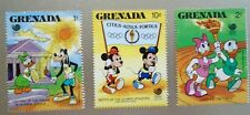 Vintage Postage Stamps Grenada Olympic Issue