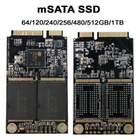 mSATA 120GB Mini SATA Internal Solid State Drive SSD Laptops PC Desktop 6.0 Gbp