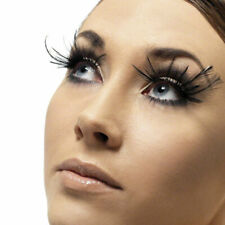Long Eyelashes with Feathers